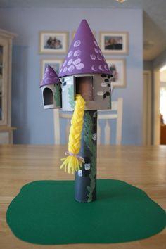 Cute Rapunzel Craft