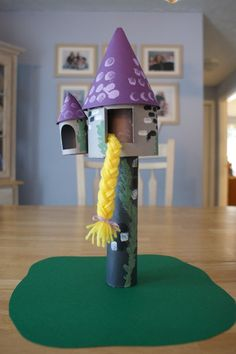 Cute Rapunzel Craft