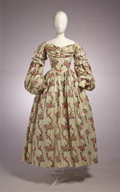 Wool muslin, Dutch,1836.  Gemeentemuseum Den Haag, nr. 1018228
