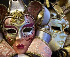 More Venetian Carnival Masks por Luigi R. Venice Carnival Costumes, Venetian Carnival Masks, Carnival Of Venice, Venetian Masquerade, Masquerade Ball, Masquerade Mask Makeup, Beautiful Mask, Mardi Gras, Luigi