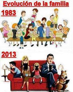evolución de la familia