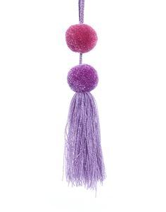 Pom Pom Tassel - Lavender + Taffy