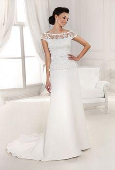 b392f8700d7  ślubnie z slubiweselle.pl Inspired Collection - Kolekcja sukni ślubnych  Agnes - koronkowe suknie
