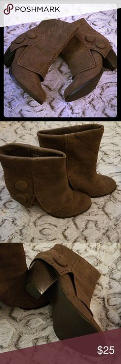 Boots Cute brown Suede boot. Not Rated Shoes Ankle Boots & Booties