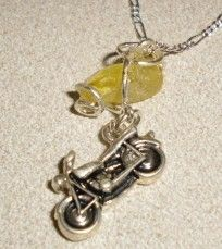 Yellow Sea Glass Jewelry Motorcycle Key West Collection  http://www.artfire.com/ext/shop/product_view/sandhillkar/2780852/yellow_sea_glass_jewelry_motorcycle_key_west_collection/handmade/jewelry/necklaces/glass#