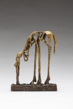 Simply love this!  More equine art & inspirations: www.StajniaSztuki.pl Sandy Graves: Bronze Sculpture