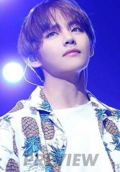 Tae (I just realized his shirt has pineapples on it)