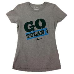 Go Tulane Nike T-shirt