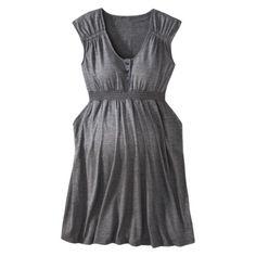 Liz Lange® for Target® Maternity Short- Sleeve Lounge Dress - Assorted Colors $27.99