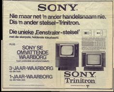 Sony TV Print ad #SouthAfrica