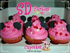 Cupcakes Minnie SD Parties
