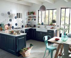 Cuisine Castorama : meubles et carrelages tendance
