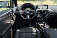 BMW cockpit design is all about the driver. Check out the M detailing in the gearshift, the dash, and the stitching. Bmw For Sale, Bmw Love, New Bmw, Missouri, Stitching, Check, Design, Costura