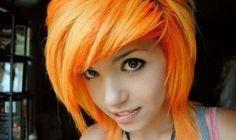 hard orange hair