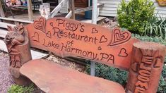 Photo of Piggy's Restaurant - Lake Harmony, PA, United States. Out front