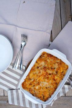 Lasagne con vongole e fagioli cannellini