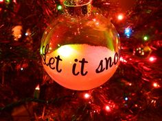 Easy DIY Tree Ornaments