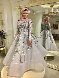 Different - Hijab+ Hijab Evening Dress, Hijab Dress Party, Evening Dresses, Pink Prom Dresses, Cheap Dresses, Elegant Dresses, Wedding Dresses, Hijab Fashion, Fashion Dresses