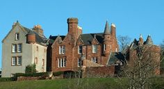 River Clyde Photography: Skelmorlie Castle near Largs, Ayrshire; restored.  Held by the Cunninghams from 14th century, passed to Montgomerys and then Grahams.