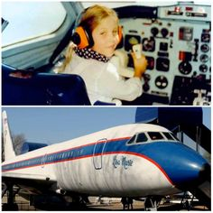 {*Elvis's one an Only little girl Lisa Marie in her her dads plane he named after her :) *