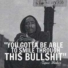 Tupac Shakur is considered a musical legend and a inspiration to many people. Here are some of the best quotes from Tupac. Tupac Quotes, Gangster Quotes, Rapper Quotes, Badass Quotes, Lyric Quotes, Tupac Lyrics, Real Talk Quotes, Fact Quotes, Wise Quotes