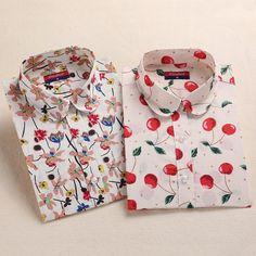 Tribal de Impresión Camisas de Algodón de Manga Larga Tops Señoras Blusas de Las Mujeres de La Vendimia Floral Blusas Más El Tamaño 5XL Moda Mujer Ropa