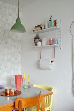 DIY | Hübsche Halterung für die Küchenrolle selber machen