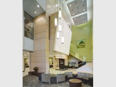 2011 Design Award Winner- Health First Viera Hospital, Melbourne, FL Modern Hospital, Hospital Architecture, Community Hospital, Construction Cost, Healthcare Design, Health Center, Design Awards, Architecture Design, Health Care