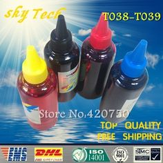 25.00$  Buy here - http://aliwt8.shopchina.info/go.php?t=1877620684 - Dye refill ink Suit for Epson T038 T039 Cartridges ,suit for Epson C41  C43 C43U C45 CX1500 CX1500v , specialized ink  #magazineonlinebeautiful
