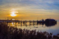 Atardecer en el puerto de Marken - Monnickendam y Marken