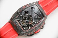 Cvstos Challenge Chrono II Carbon with Red.