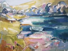 Discover the Cricket Fine Art Christmas Exhibition at our London and Hungerford galleries. The group exhibition offers an insight into our wonderful artists and a wide variety of genres and mediums. View the official catalogue today via link in image. ______________ Kate Rhodes The Lunch Hut Spey (Hungerford Gallery) Signed Oil on Canvas 35 7/8 x 48 1/8 in 91 x 122 cms (KR030) #seascape #oilpainting #artlondon #londonart #artgallery