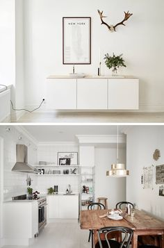 A SMALL BUT BRIGHT APARTMENT IN GOTEBORG, SWEDEN | THE STYLE FILES