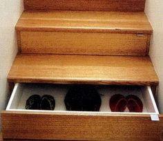 Stair Riser Drawers