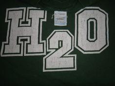 H2O Vintage 1990s T Shirt Hardcore Punk Nyhc Sxe by TwistedFabrics