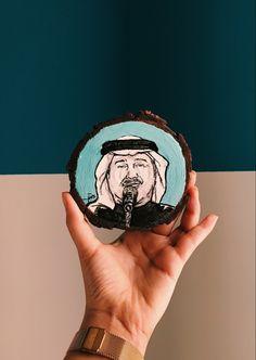 رسمة للفنان محمد عبده على قطعة خشب بوب ارت محمد عبده محمد عبده رسم Popart Rings For Men Artist Mesh