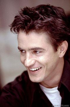"""Dermot Mulroney. fell in love early in his movie career (Young Guns & Point of No Return). He was looking a bit haggered when he was on Friends, but has come back hotter than ever it in recent titles like """"The Wedding Date."""" Those eyes and smile melt me every time."""