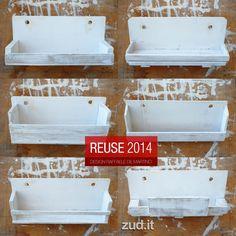 elementi di arredo in legno riutilizzato / design Raffaele De Martino www.zud.it