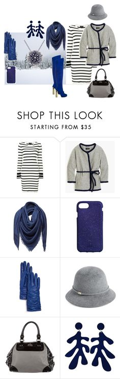 """""""snowy days"""" by moestesoh ❤ liked on Polyvore featuring Theory, J.Crew, Loewe, Bloomingdale's, ShoeDazzle, Helen Kaminski and Rebecca Minkoff"""