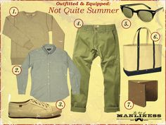 Outfitted & Equipped: Not Quite Summer