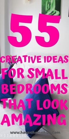 You still have options with your small bedroom. Get creative and have fun decorating. Small bedrooms can look amzing, be cozy and have storage. Small Master Bedroom, Small Bedrooms, Cozy Bedroom, Bedroom Decor, Indoor Outdoor Carpet, Wall Mounted Light, Bedroom Layouts, Storage Hacks, Cozy Living Rooms