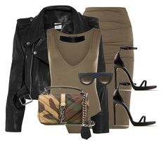 Fire by mullaqueen on Polyvore featuring polyvore fashion style Vetements WearAll Donna Karan Yves Saint Laurent CÉLINE clothing