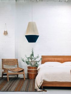 New handmade Dream Weaver lamp shades from Melbourne design team Pop & Scott. Photo by Bobby Clark of Bobby and Tide.