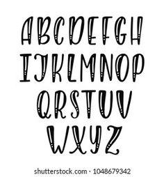 Font Hand Lettering, Doodle Lettering, Creative Lettering, Graffiti Lettering, Lettering Tutorial, Block Lettering, Brush Lettering, Script Fonts, Lettering Styles Alphabet