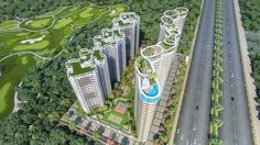 Organic Golf Homes, thus, provides its residents a feeling of living in the Noida city as the project happens to share such an extreme closeness with the city.