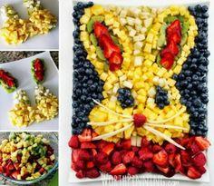 Fab Art DIY Watermelon Bunny Fruit Platter2