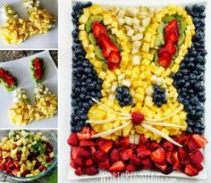 ... - kids on Pinterest | Fruit Platters, Chocolate Desserts and Tacos