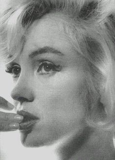 Marilyn Monroe photographer by Allan Grant, 1962.