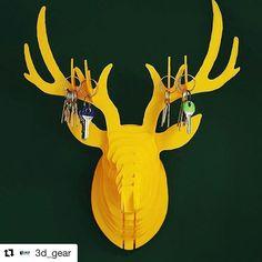 Love this key holder. #Repost @3d_gear with @repostapp  #3d #3DPrint #3Dprinting #3Dmodel #3Dprinter #3dscan #3dmodeling #3dpen #Design #ProductDesign #CAD #Maker #ModernManufacturing #Shapeways #Ultimaker #PrintrBot #FDM #PLA #insiderdesign #design #makerbot #filament #plastic #industrialdesign #print #architecture #architect #architecturestudent #archilover