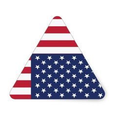 triangle american flag